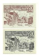 1920 - Austria - Eggenburg Notgeld N34, - Austria