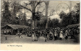 Le Marché D'AGONSA  - Dahomey - Sans éditeur - Dahomey