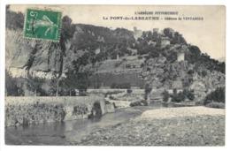 07 Le Pont De Labeaume, Chateau Du Ventadour (3422) - France