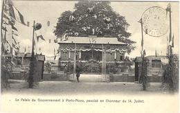 Le Palais Du Gouvernement à Porto-Novo,pavoisé En L'honneur Du 14 Juillet - Dahomey - Sans éditeur - Dahomey