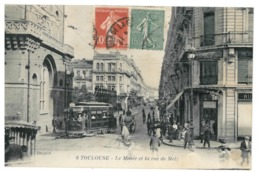 31 Toulouse, Le Musée Et Rue De Metz (3429) - Toulouse