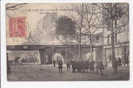 CPA 75 PARIS 19 Eme Le Pont Du Chemin De Fer Rue D'Allemagne - Arrondissement: 19