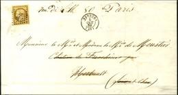 PC 3515 / N° 1 Càd T 15 VENDÔME (40) Sur Imprimé Complet Pour Herbault. 1852. - TB. - 1849-1850 Ceres
