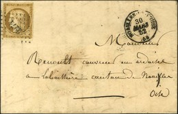 PC 2274 / N° 1 Càd NOAILLES-DE-L'OISE Sur Lettre Avec Texte Daté De Monchef Adressée Localement. 1852. - TB / SUP. - R. - 1849-1850 Ceres