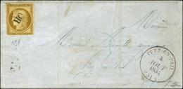 OR / N° 1 (def) Càd T 14 PREZ-EN-PAIL (51) Sur Lettre Locale. 1853. - TB. - 1849-1850 Ceres