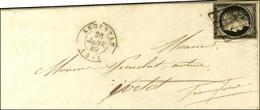 Grille / N° 3 Càd T 15 ARGENTAN (59) 26 JANV. 49. - TB / SUP. - 1849-1850 Ceres