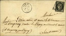 Grille / N° 3 Càd T 15 AUBIN (11). 1849. - TB / SUP. - 1849-1850 Ceres