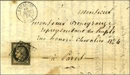 Grille / N° 3 Càd T 15 ESPALION (11). 1849. - TB. - 1849-1850 Ceres
