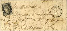 Grille / N° 3 (def) Càd T 15 St SERNIN-S-RANCE 11. 1849. - TB. - 1849-1850 Ceres