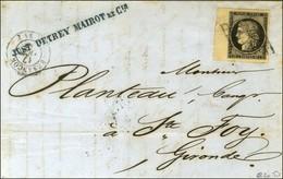 Grille / N° 3 Bdf, Belles Marges Càd T 15 BESANCON (24). 1849. - TB. - 1849-1850 Ceres