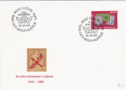 Tag Der Aerophilatélie LUPO 26-28.4.1969 - Poste Aérienne