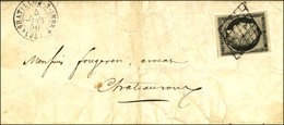 Grille / N° 3 Càd T 15 CHATILLON-S-INDRE (35). 1850. - TB. - 1849-1850 Ceres