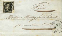 Grille / N° 3 Bdf Càd T 14 PUTTELANGE (55). 1850. - TB. - 1849-1850 Ceres