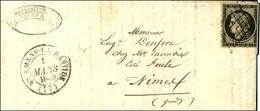 Grille / N° 3 Càd T 14 ST AMANS-LA-BASTIDE (77). 1849. - TB. - 1849-1850 Ceres