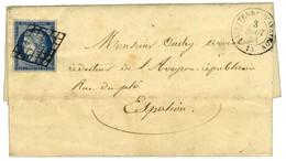 Grille / N° 4 Càd T 15 SAUVETERRE-D'AVEYRON 11. 1851. - TB / SUP. - 1849-1850 Ceres