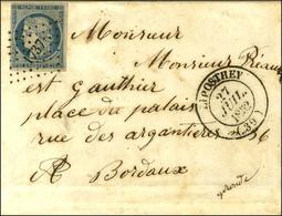 PC 1737 / N° 4 Càd T 14 LIPOSTHEY (39). 1852. - TB / SUP. - 1849-1850 Ceres