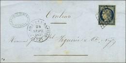 Grille / N° 4 Càd T 14 ST AMANS-LA-BASTIDE (77). 1850. - TB / SUP. - 1849-1850 Ceres