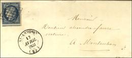 Grille / N° 4 Càd T 14 St ANTONIN (85). 1851. - TB / SUP. - 1849-1850 Ceres
