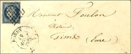 Grille / N° 4 Càd T 13 BONDY (60) (non Signalé). 1850. - TB. - R. - 1849-1850 Ceres