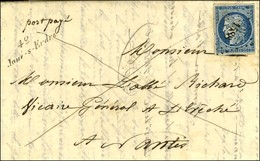 PC 1588 / N° 4 Cursive 42 / Joué-s-Erdre Sur Lettre Avec Texte En Liaison Directe Avec Nantes. 1852. - SUP. - R. - 1849-1850 Ceres