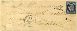 Grille / N° 4 (def) Cursive 57 / Aniche Dateur B. 1851. - TB. - 1849-1850 Ceres