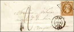 PC 9 / N° 9 (belles Marges) Càd T 15 AGEN (45) Sur Lettre Territoriale En Double Port Insuffisamment Affranchie (après L - 1852 Louis-Napoleon