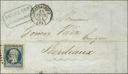 PC 796 / N° 10 Superbes Marges Càd T 15 CHATEAUROUX (35). 1854. - SUP. - 1852 Louis-Napoleon