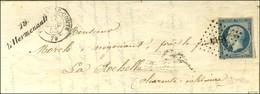 PC 1514 / N° 10 Càd T 15 FONTENAY-LE-COMTE 79 Cursive 79 / L'Hermenault Sur Lettre Avec Texte Pour La Rochelle. 1853. -  - 1852 Louis-Napoleon