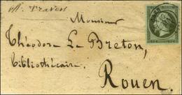 Càd T 15 CAEN (13) / N° 11 Sur Bande D'imprimé Pour Rouen. 1861. - TB / SUP. - 1853-1860 Napoleon III