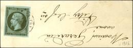 Càd T 15 VITRY-LE-FRANCAIS / N° 11 Sur Bande D'imprimé Adressé Localement. 1861. - TB. - 1853-1860 Napoleon III