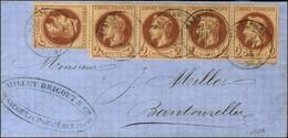 Càd T 15 MASNIERES (57) / N° 26 (5). 1864. - TB / SUP. - 1863-1870 Napoleon III With Laurels