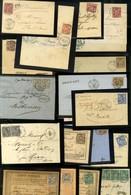 Lot De 24 Lettres Au Type Sage (N Sous B). - B / TB. - 1876-1878 Sage (Type I)
