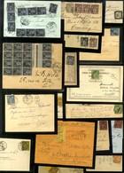 Lot De 56 Lettres Emission Type Sage (N° 83 Au N° 106 + 2 Lettres De Taxe). - B / TB. - 1876-1878 Sage (Type I)