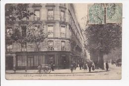 CPA 75 PARIS 19 Eme  Rue D'Allemagne Prise De L'avenue Laumiere - Distretto: 19