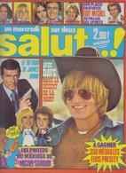 SALUT ! - N° 30 DU 26 OCTOBRE AU 8 NOVEMBRE 1977 - JOHNNY-SARDOU-DAVE-JAMES BOND ETC...-PORT COMPRIS EN FRANCE - Muziek