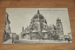 1351- Bruxelles, Eglise Sainte Marie - Belgique