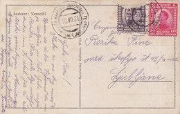Yugoslavia Bahnpost Railway TPO Postmark Kamnik-Ljubljana 78 ( 1921 ) - Covers & Documents