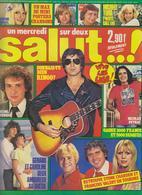 SALUT ! - N° 32 - DU 23 NOVEMBRE AU 4 DECEMBRE 1977 - RINGO-SARDOU-PEYRAC-LENORMAND-STONE ETC...-PORT COMPRIS EN FRANCE - Musique