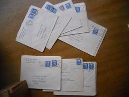 Lot - Gandon - Lot De 29 Lettres Obliterees De Marseille - Affranchies Avec Des Gandon - Postmark Collection (Covers)