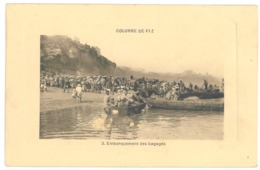 Maroc. Colonne De Fez, Embarquement Des Bagages (3432) - Fez