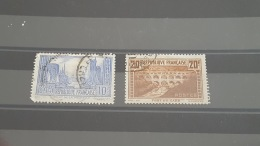 LOT 401649 TIMBRE DE FRANCE OBLITERE N°261/262 - Used Stamps