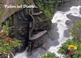 1 AK Ecuador * Der Pailon Del Diablo (Schlucht Des Teufels) - Einer Der Bekanntesten Wasserfälle Der Welt * - Ecuador