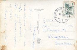 Yugoslavia Bahnpost Railway TPO Postmark Maribor-Ljubljana 39 ( 1961 ) - 1945-1992 Socialist Federal Republic Of Yugoslavia