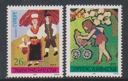 Yugoslavia 1984 Joy Of Europe 2v  ** Mnh (39112A) - Europese Gedachte