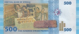 SY P. 115 500 P 2013 UNC - Syrie