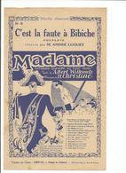 PARTITION  C'est La Faute A Bibiche - Noten & Partituren