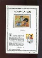 Belgie 2707 1997 Gil Et Jo Jommeke Herdenkingskaart BD Comics Strips Oplage 500ex. Nr 122 - Cartoline Commemorative