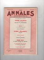 LES ANNALES 09 1951 - BALZAC ANDRE MAUROIS - CECILE BENJAMIN CONSTANT - PHI-PHI WILLEMETZ - TEMPLIERS - LOUIS JOUVET - - Journaux - Quotidiens