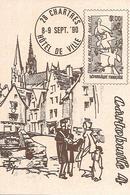CHARTRES. CARTOBULLE 4. 1990. - Collector Fairs & Bourses