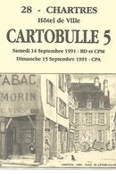 CHARTRES. CARTOBULLE 5. 1991. - Collector Fairs & Bourses